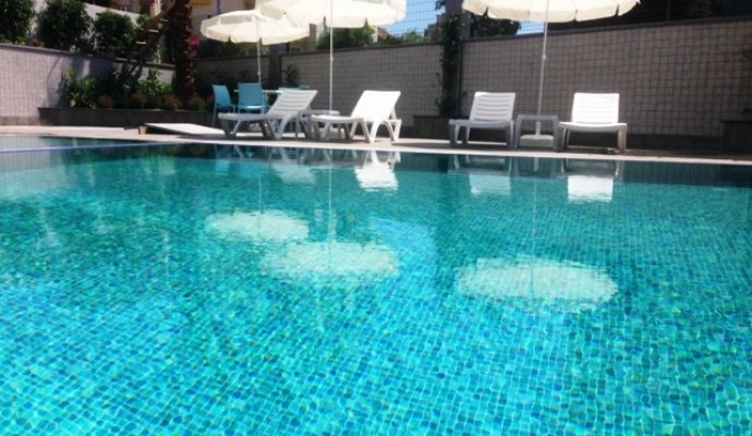Rental 1+1 Luxury Residence in Alanya