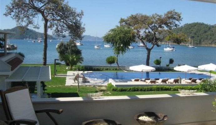 Rental Luxury Apartment in Gocek With Marina View