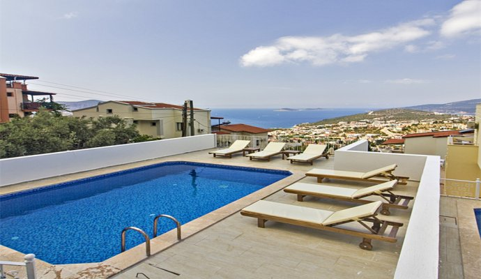 Kalkan Kiziltas Daily Rental Villa White Dream
