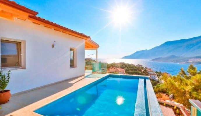 Kas 2 Bedroom Villa With Private Pool For 6 People in Cukurbag