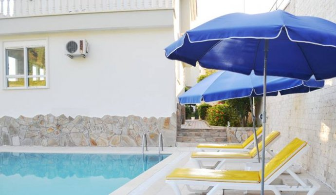 3 Bedroom Detached Conservative Villa in Alanya