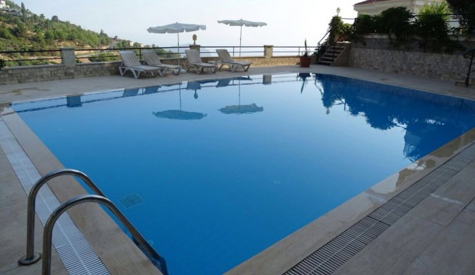 DUBLEX RENTAL SEA VIEW APARTMENT IN ALANYA