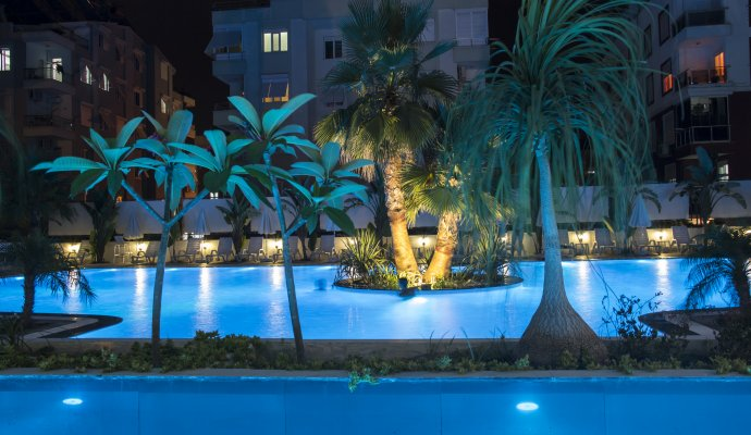 Antalya Daily and weekly cottage suitable apartments for rent