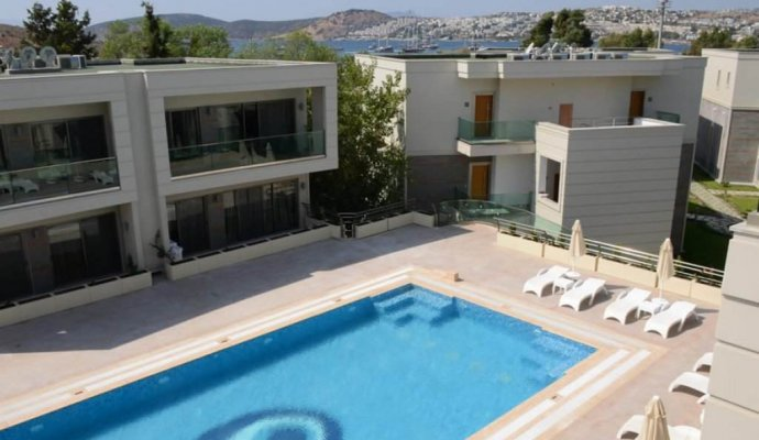 Between  Bodrum and Bardakci  1 + 1 Luxury Residence