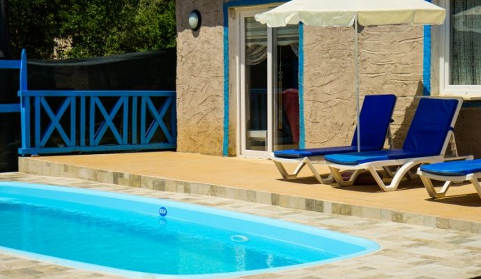 Fethiye Kayakoy Conservative Twin Villa with Private Pool