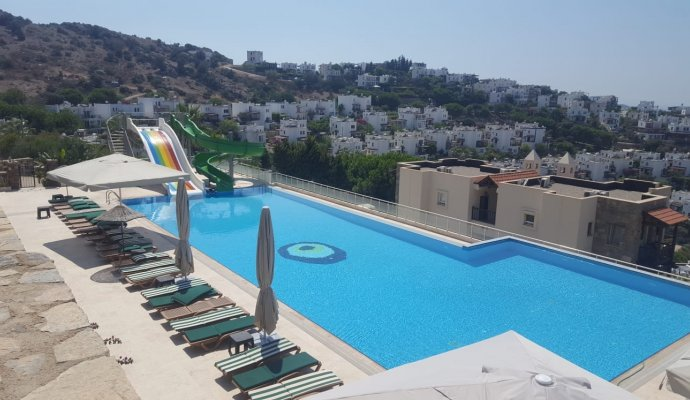 Holiday House in Yalikavak 2 Bedroom Sea View Filiz