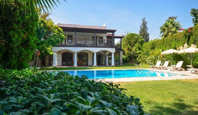 Villa MandarineBodrum Bitez Rental Villa With Private Pool