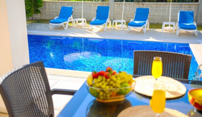 Fethiye Weekly Rental Private Pool Villa Bengonvil