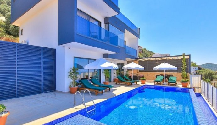 Detached Villa For Rent With Private Pool In Kalkan
