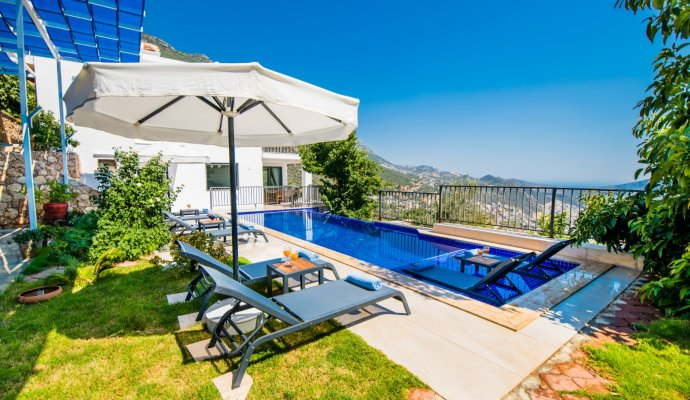 8 Person Villa with Private Pool in Kalkan
