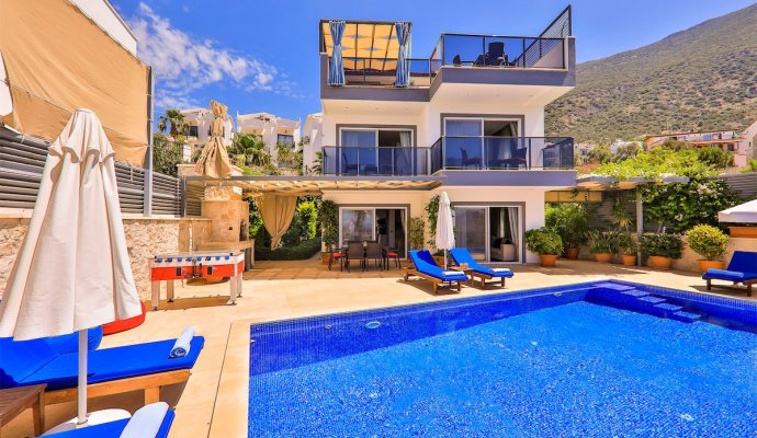 3 Bedroom Luxury Villa Near The Sea In Kas Kalkan