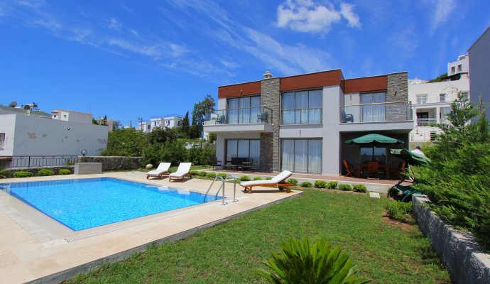 Bodrum Asarlık Sea View Villa with Private Pool