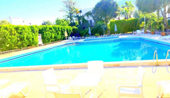 Bodrum Torba Triplex Villa with Shared Pool in Compound